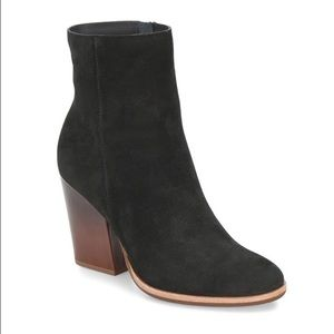 KORK-EASE Parr Suede Black Ankle Boot Bootie 8